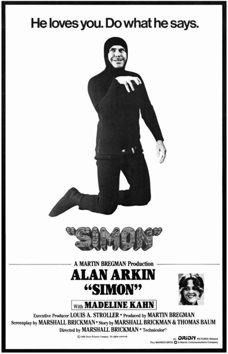 Simon (1980 film) movie poster