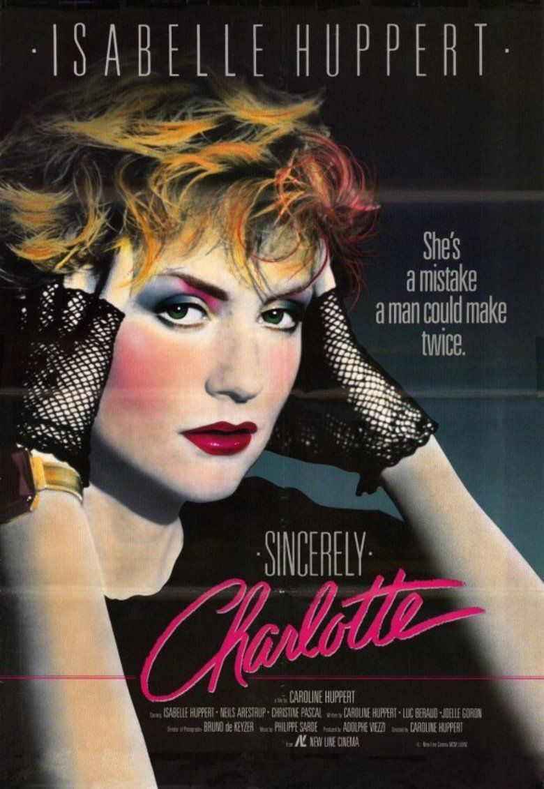Sincerely Charlotte movie poster
