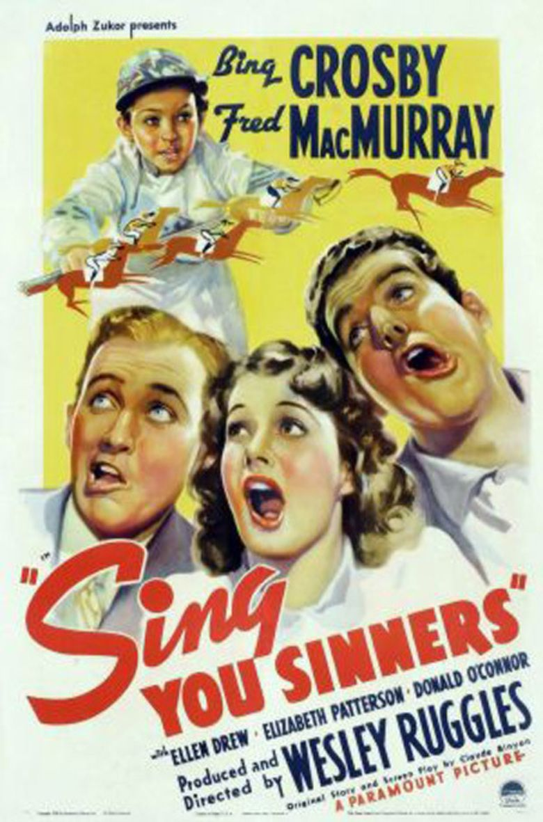 Sing You Sinners (film) movie poster