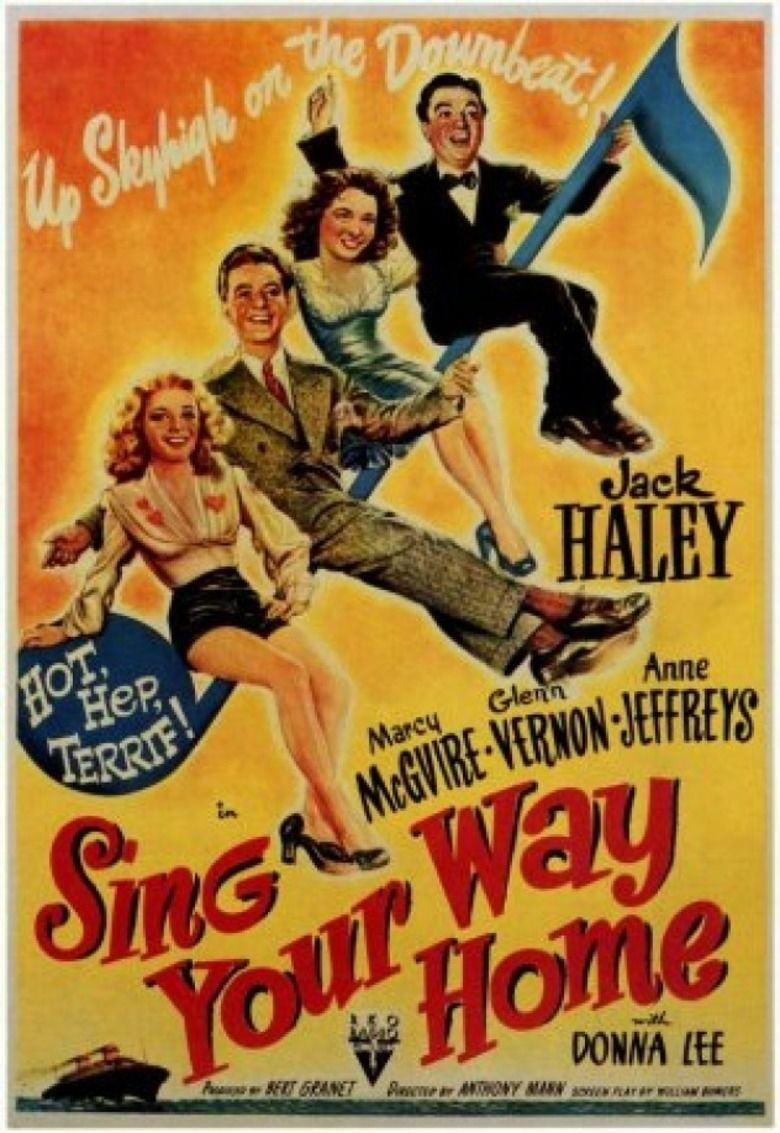Sing Your Way Home movie poster