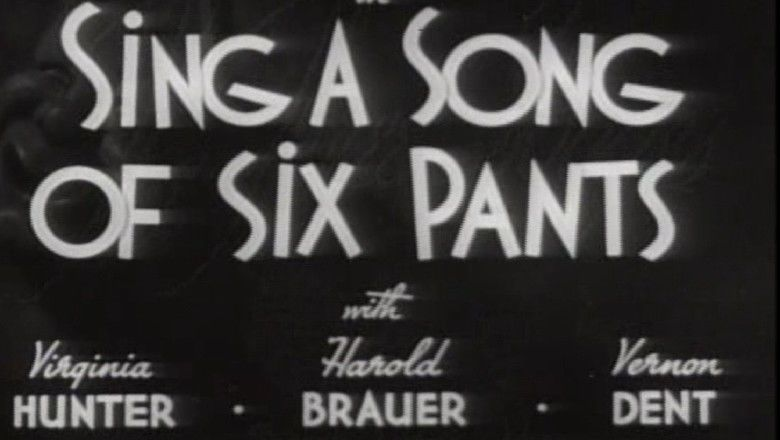 Sing a Song of Six Pants movie scenes