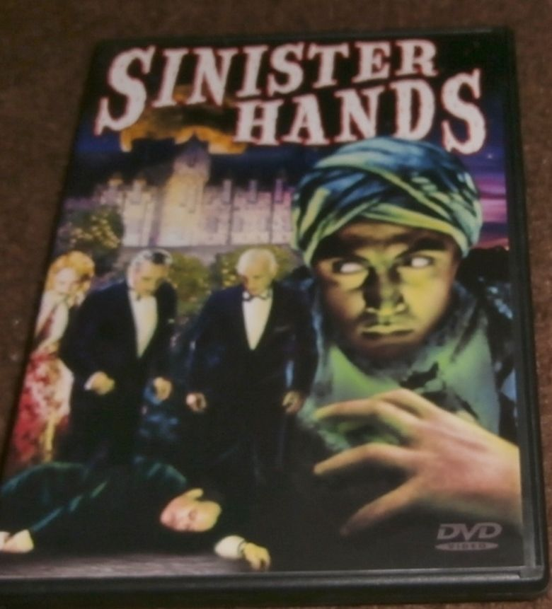Sinister Hands movie poster