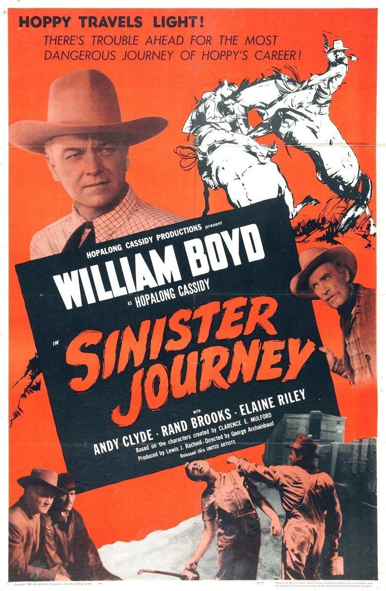 Sinister Journey movie poster