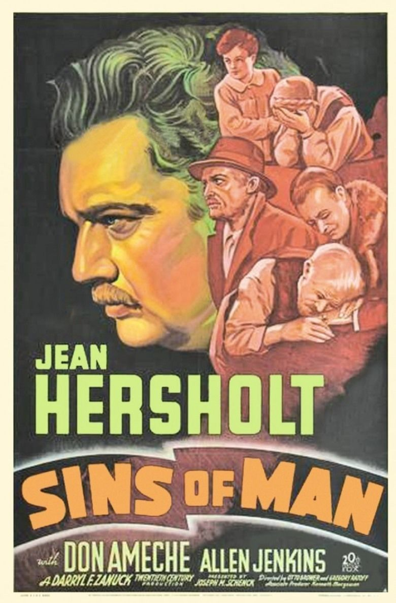 Sins of Man movie poster