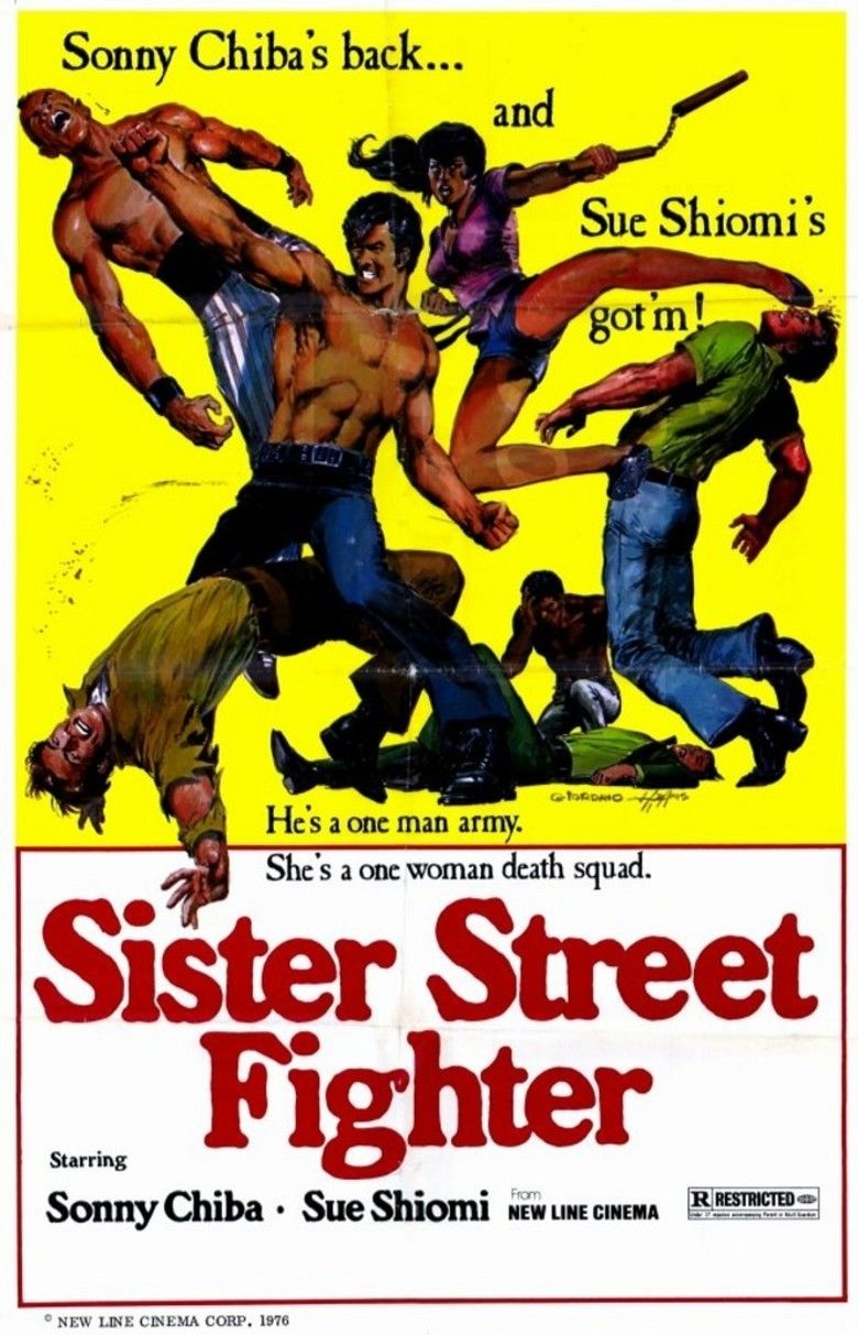 Sister Street Fighter movie poster