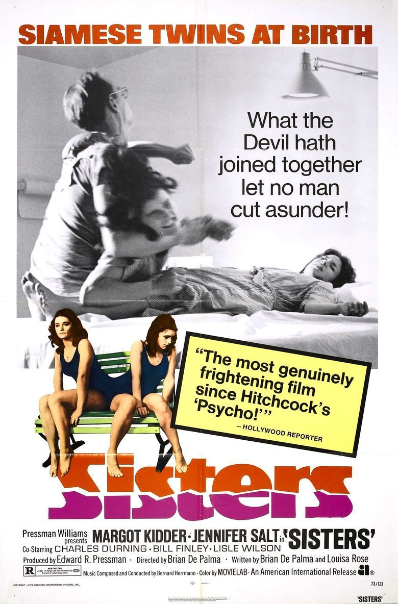 Sisters (1973 film) movie poster