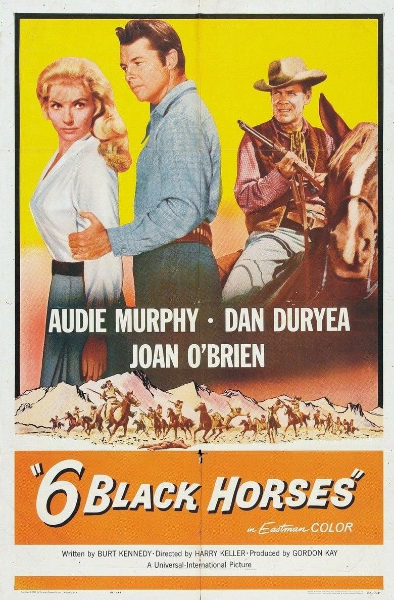 Six Black Horses movie poster