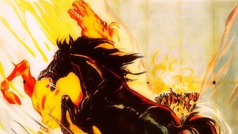 Six Black Horses movie scenes