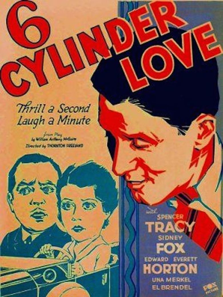 Six Cylinder Love (1931 film) movie poster