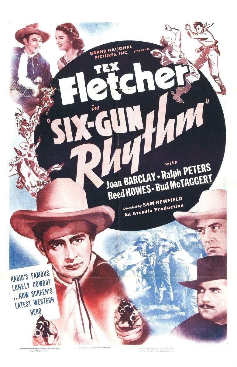 Six Gun Rhythm movie poster