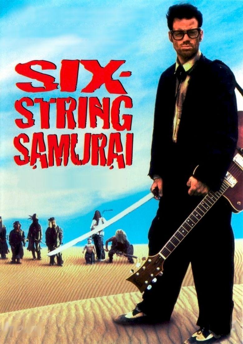 Six String Samurai movie poster