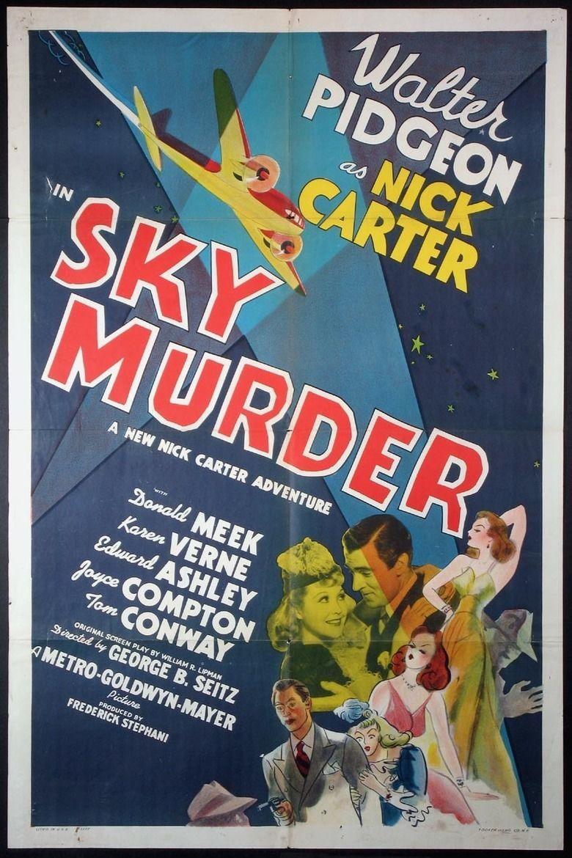 Sky Murder movie poster