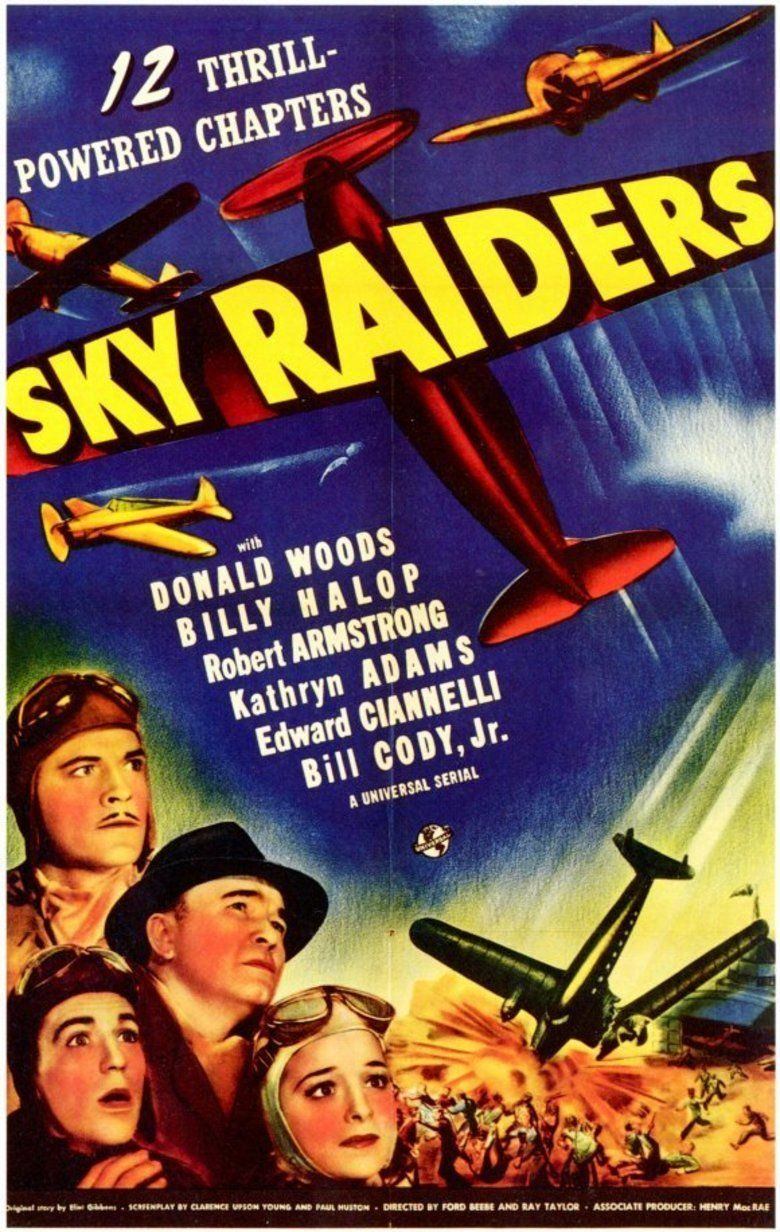 Sky Raiders movie poster