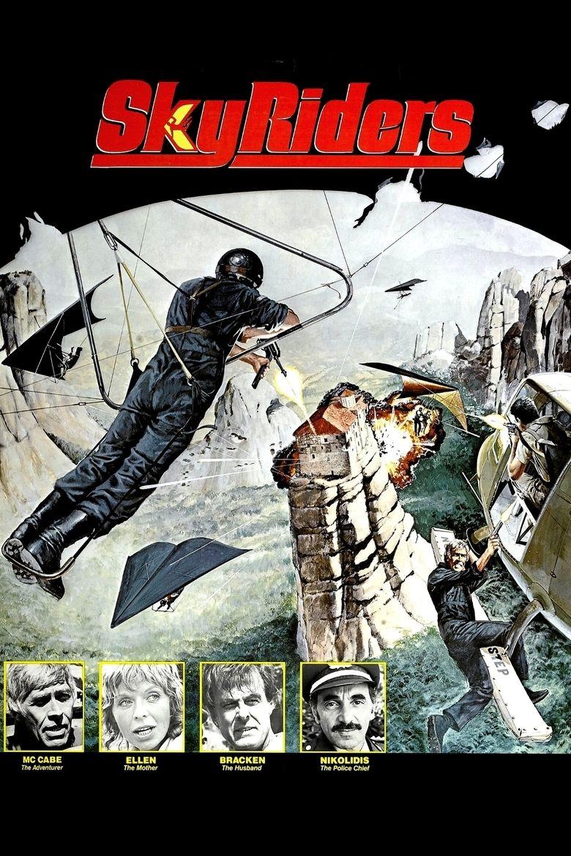 Sky Riders movie poster