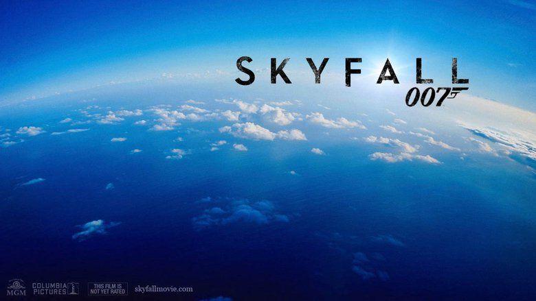Skyfall movie scenes