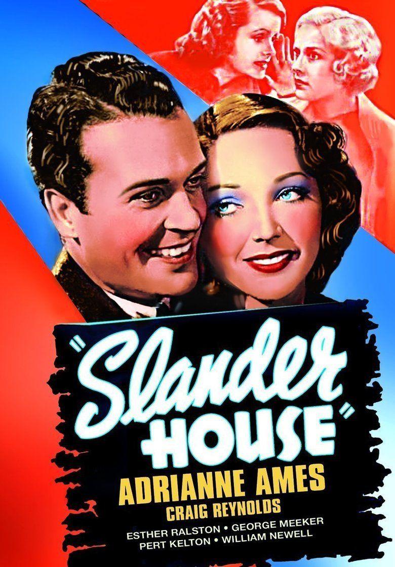 Slander House movie poster