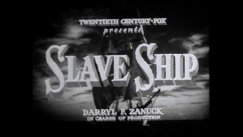Slave Ship (1937 film) movie scenes