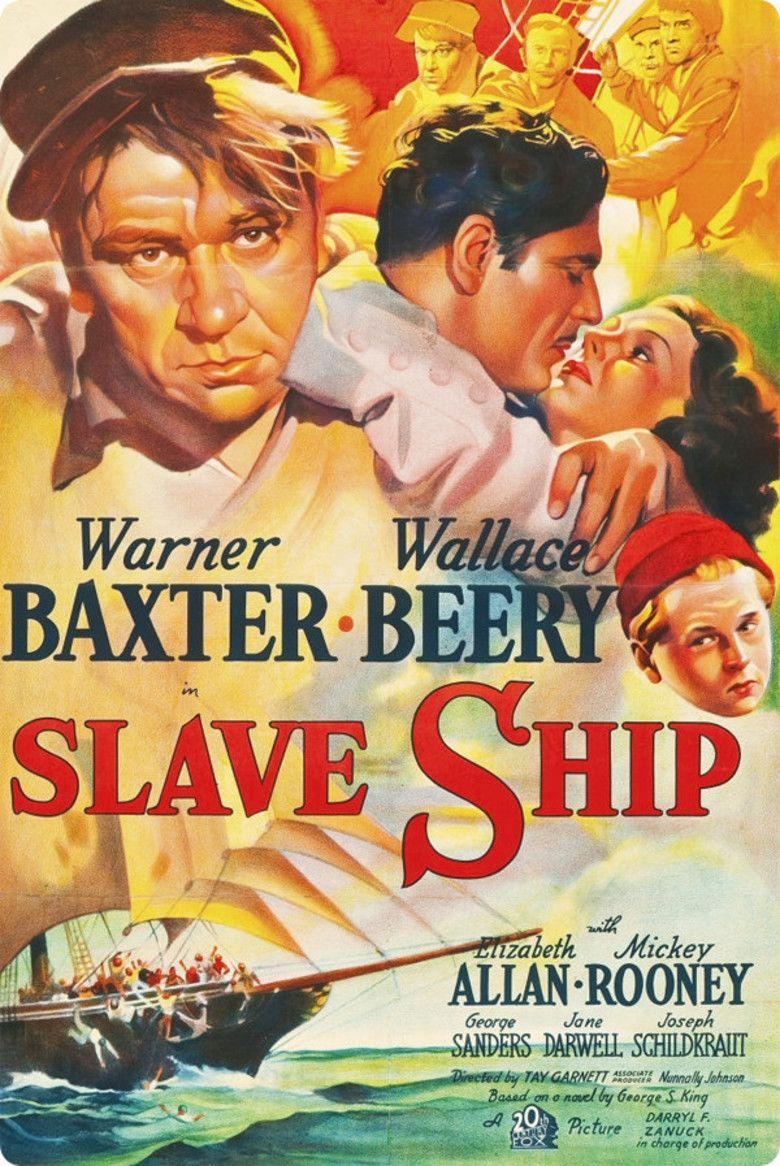 Slave Ship (1937 film) movie poster