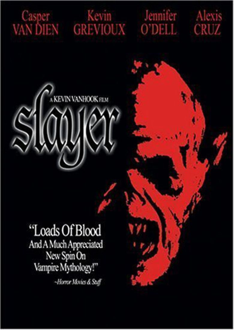 Slayer (film) movie poster