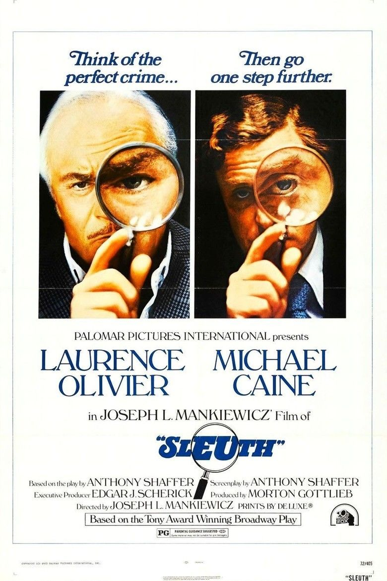 Sleuth (1972 film) movie poster