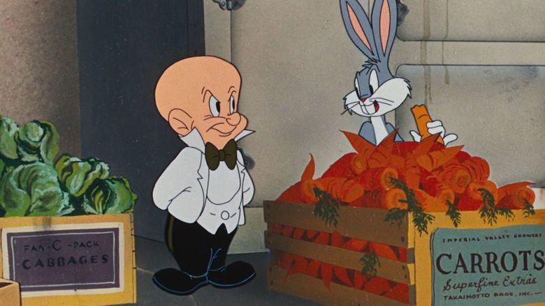 Slick Hare movie scenes