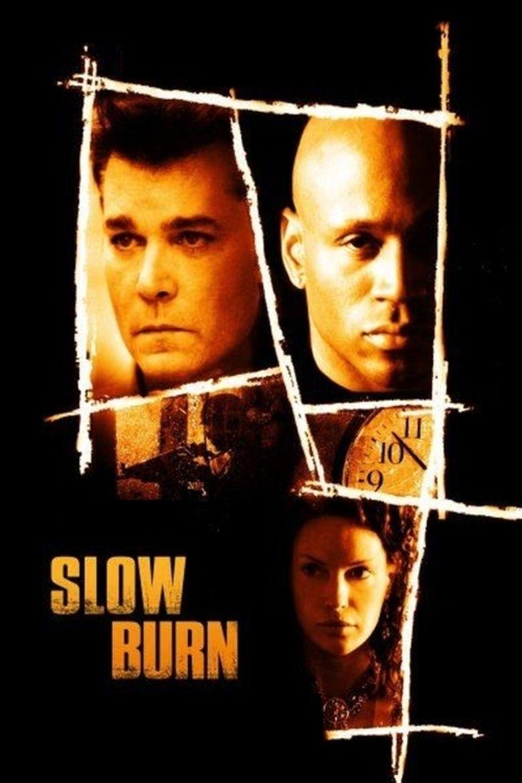Slow Burn (2005 film) movie poster