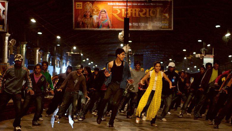Slumdog Millionaire movie scenes