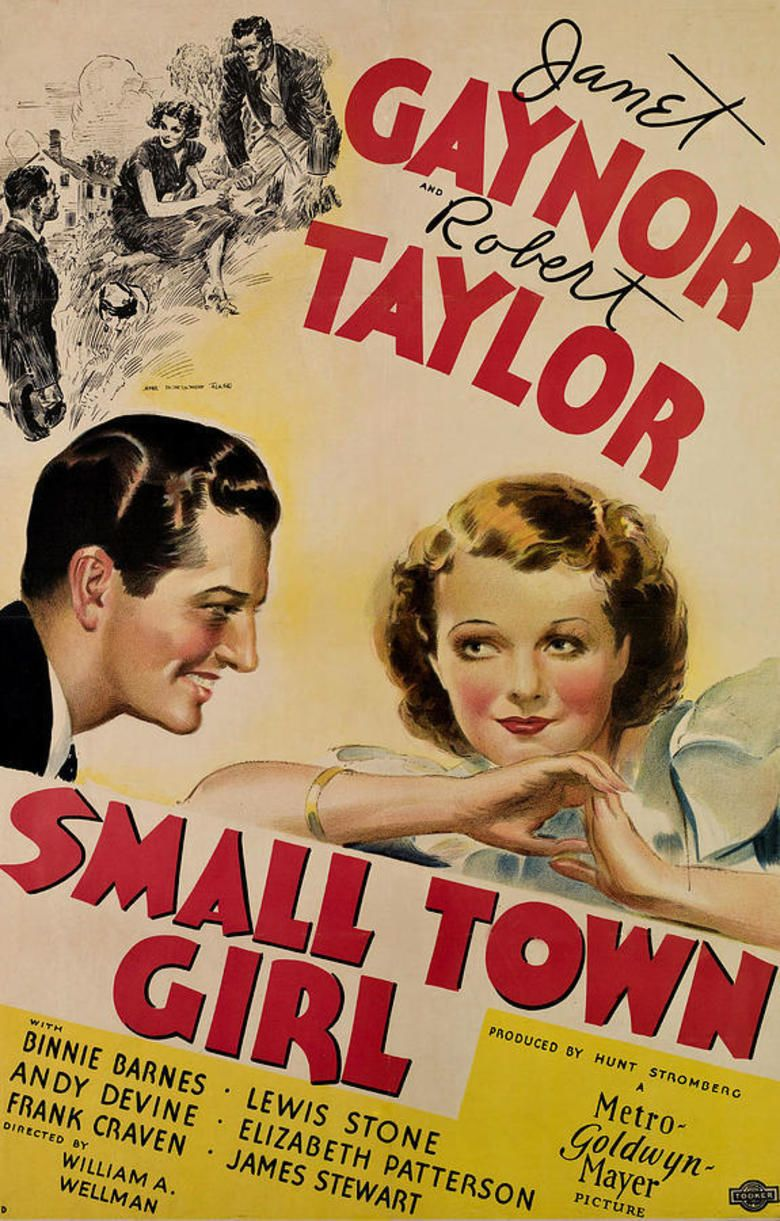Small Town Girl (1936 film) movie poster