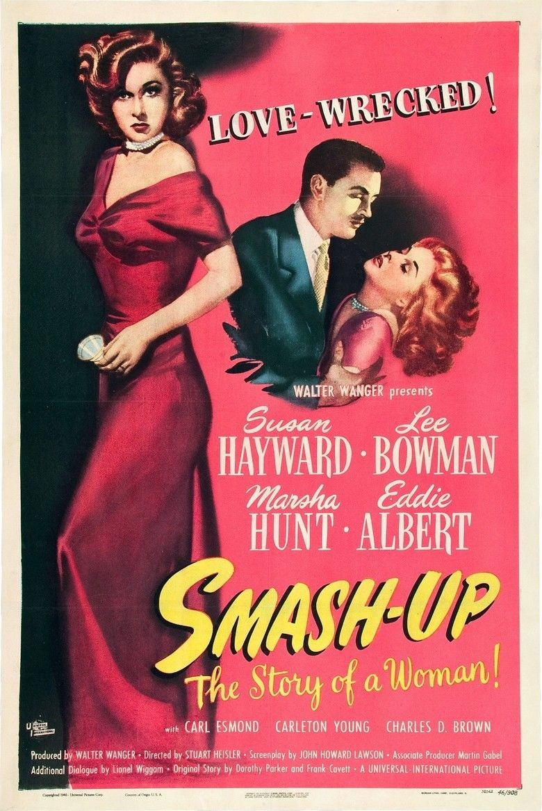 Smash Up, the Story of a Woman movie poster