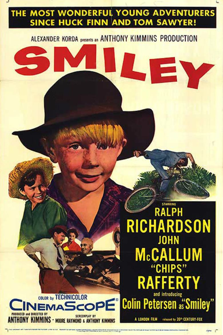 Smiley (1956 film) movie poster