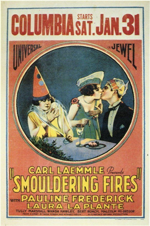 Smouldering Fires (film) movie poster
