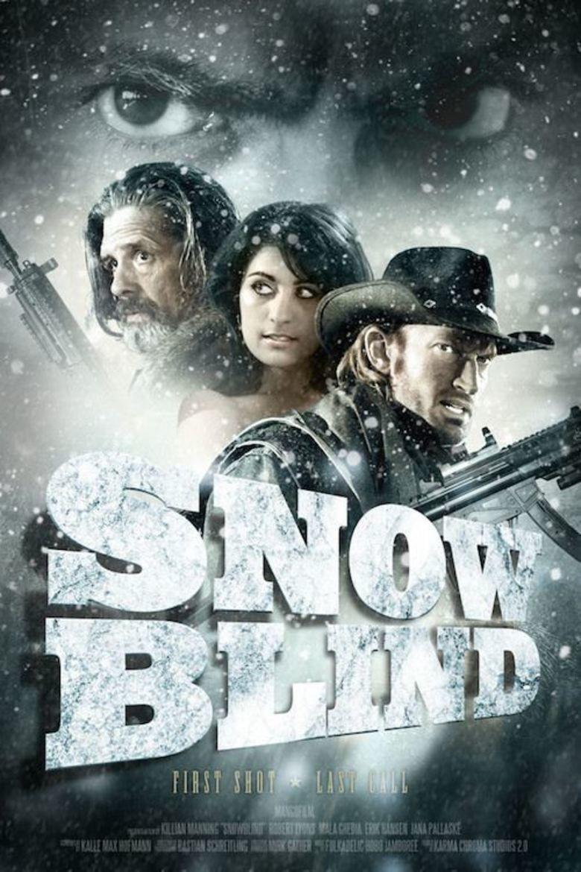 Snowblind (film) movie poster
