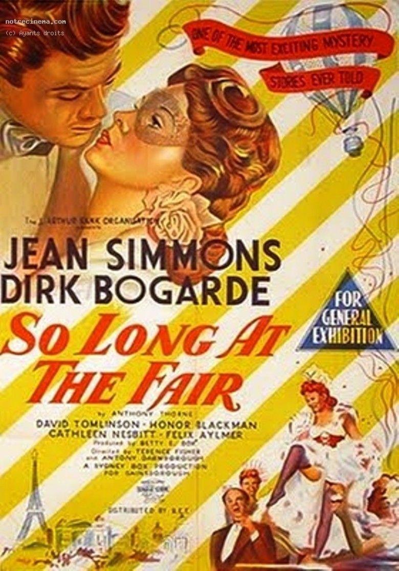 So Long at the Fair movie poster