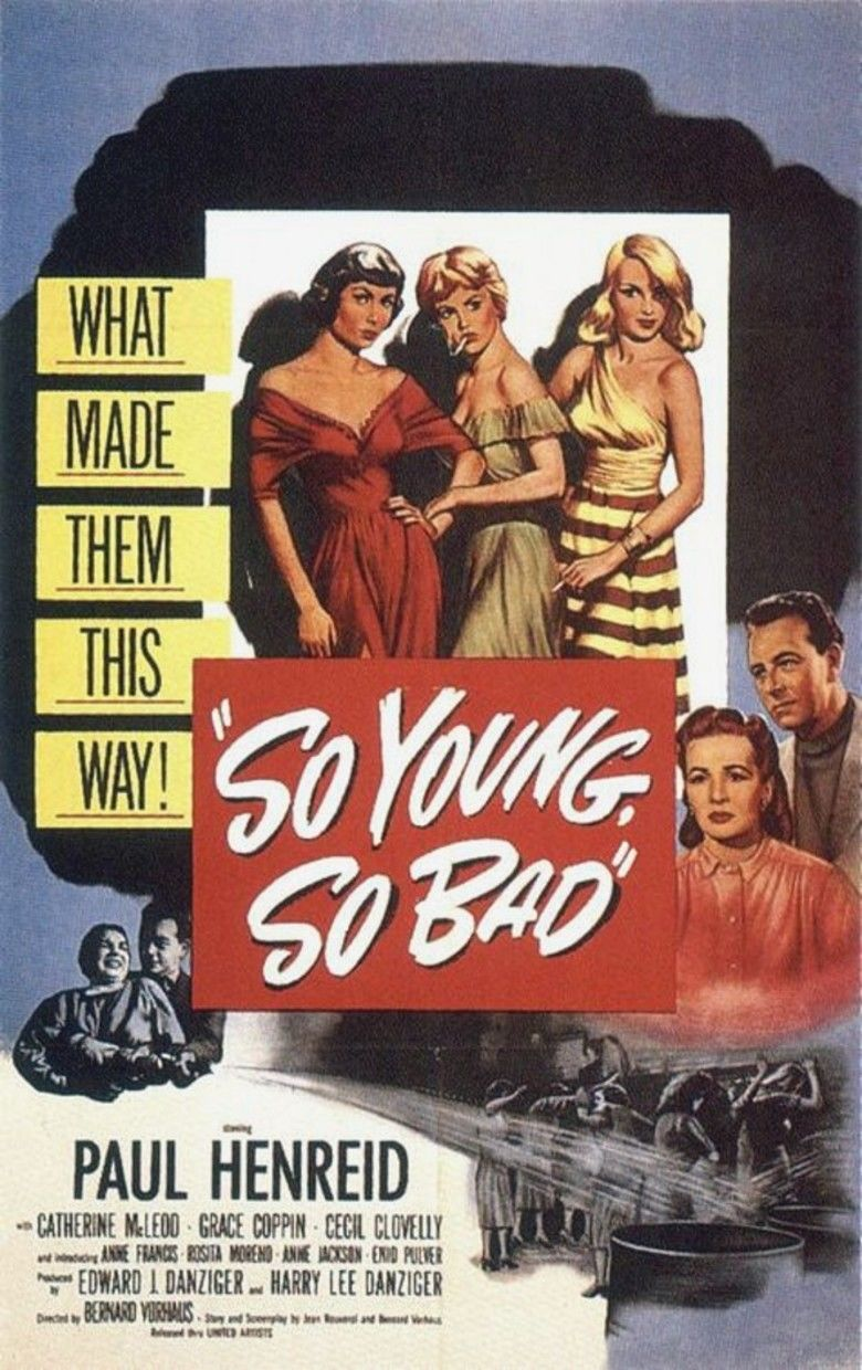 So Young, So Bad movie poster