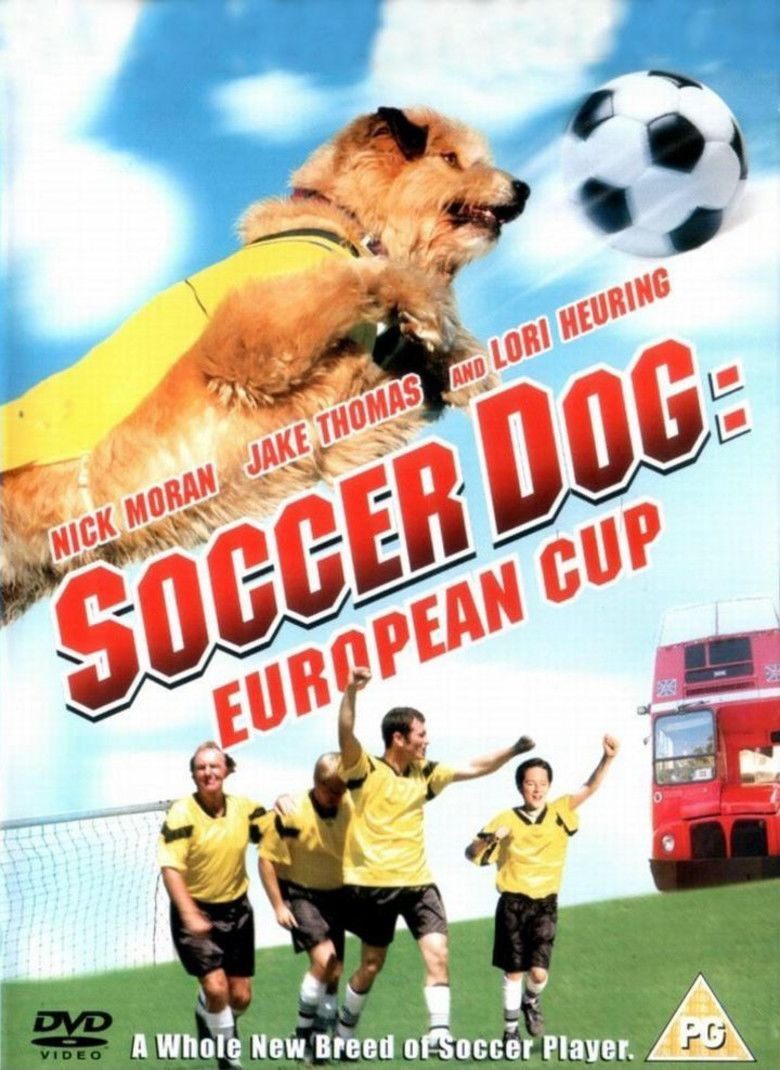 Soccer Dog: European Cup movie poster