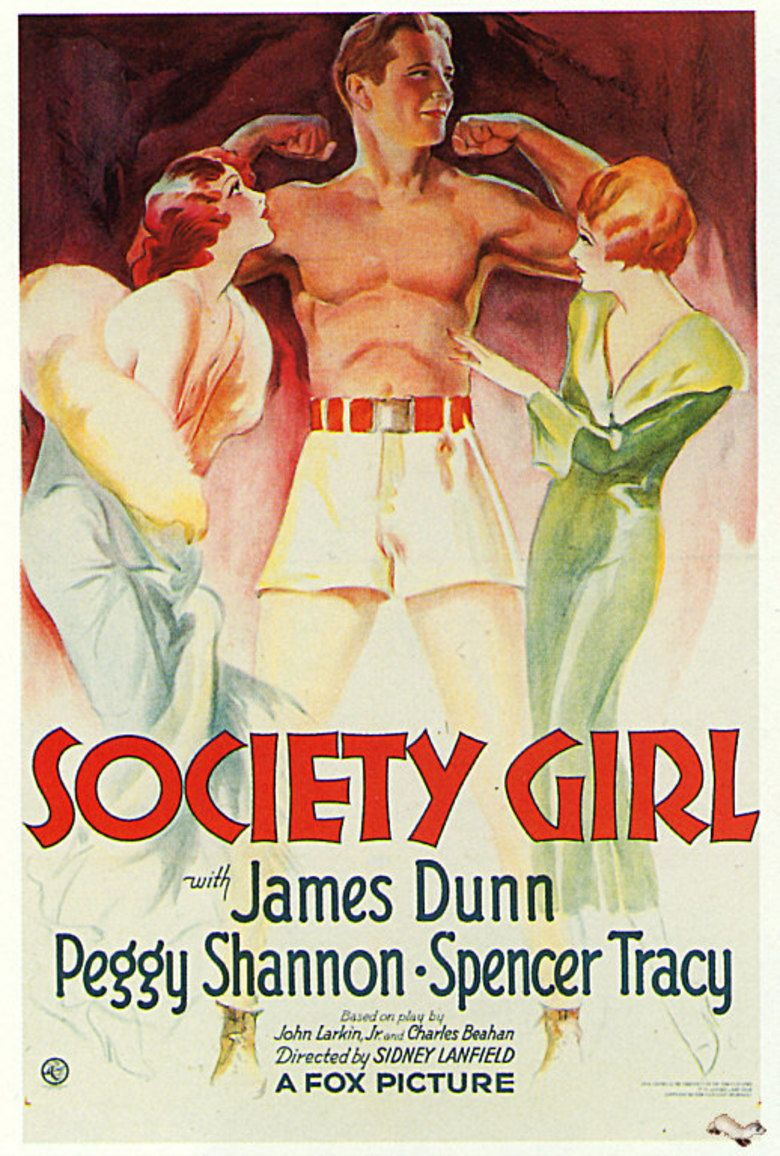 Society Girl (film) movie poster
