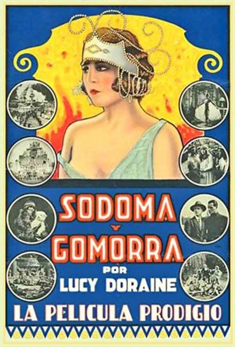 Sodom and Gomorrah (1922 film) movie poster