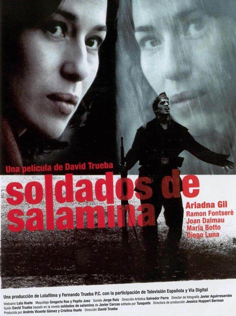 Soldiers of Salamina (film) movie poster