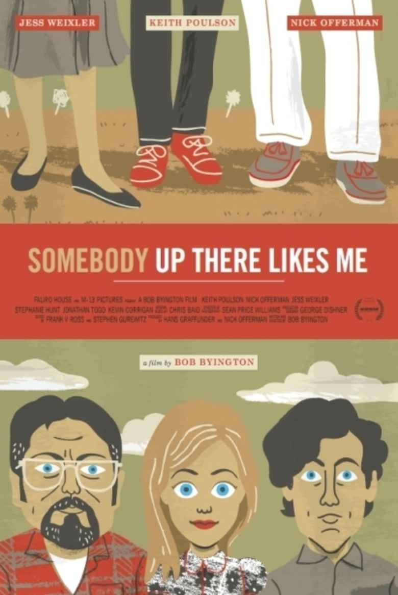 Somebody Up There Likes Me (2012 film) movie poster