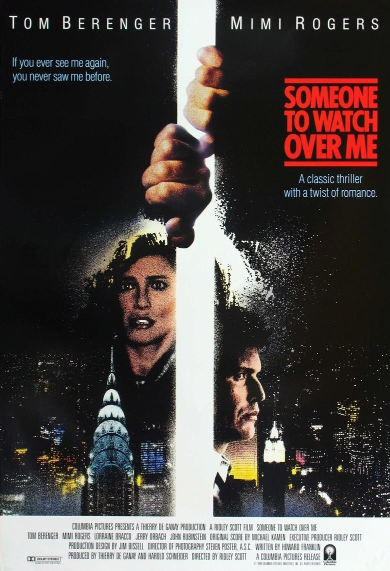 Someone to Watch Over Me (film) movie poster
