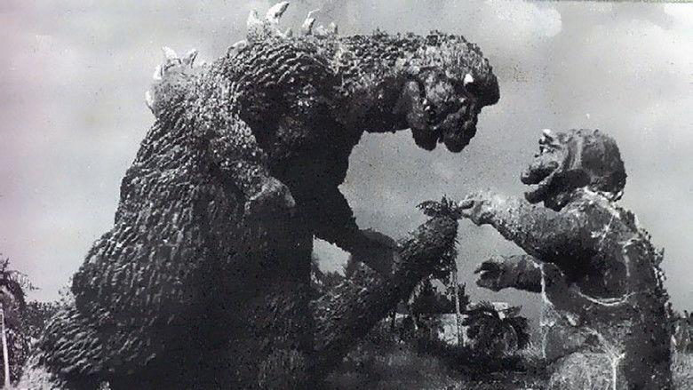 Son of Godzilla movie scenes