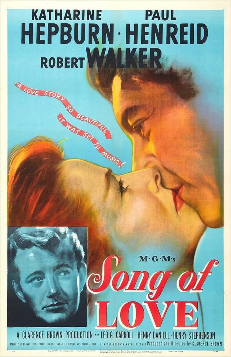 Song of Love (1947 film) movie poster