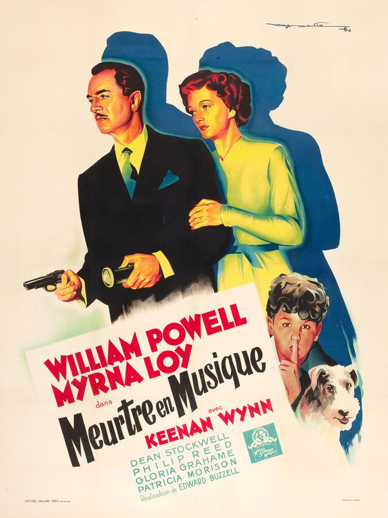 Song of the Thin Man movie poster