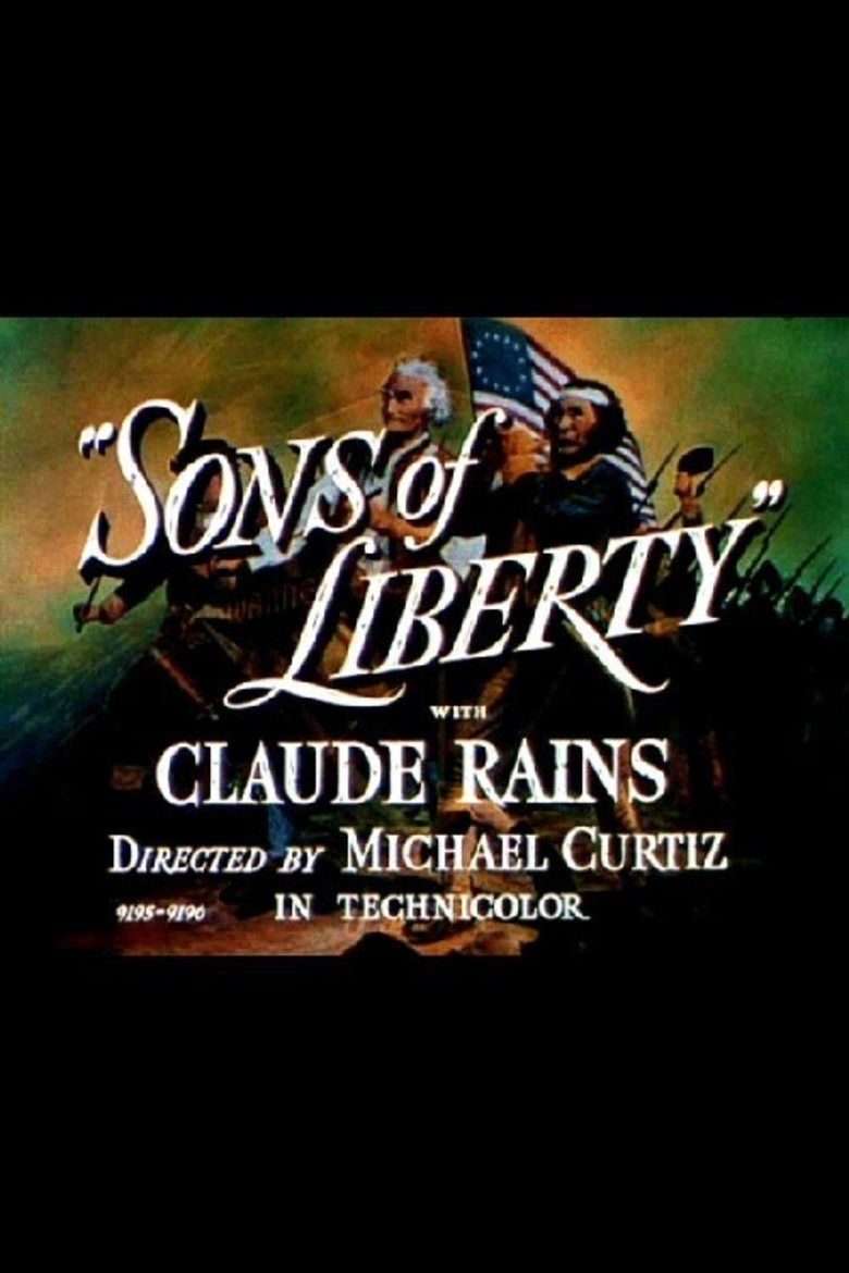 Sons of Liberty (film) movie poster