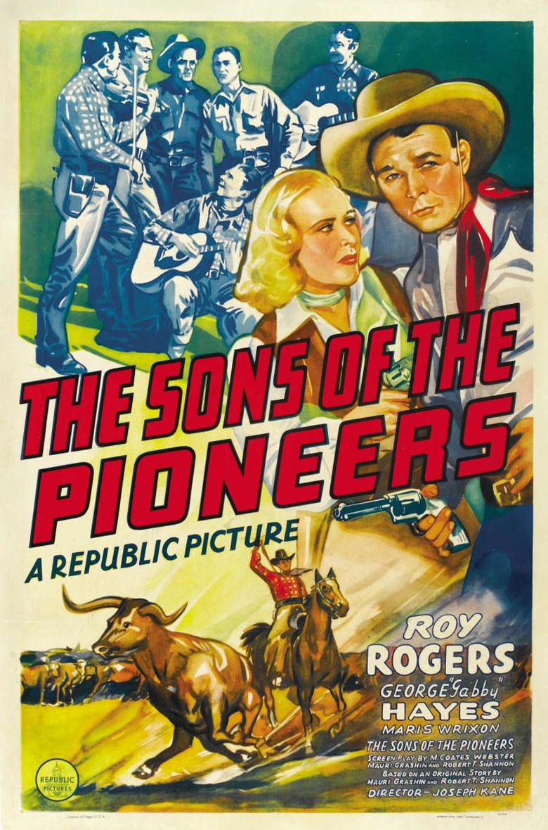 Sons of the Pioneers (film) movie poster