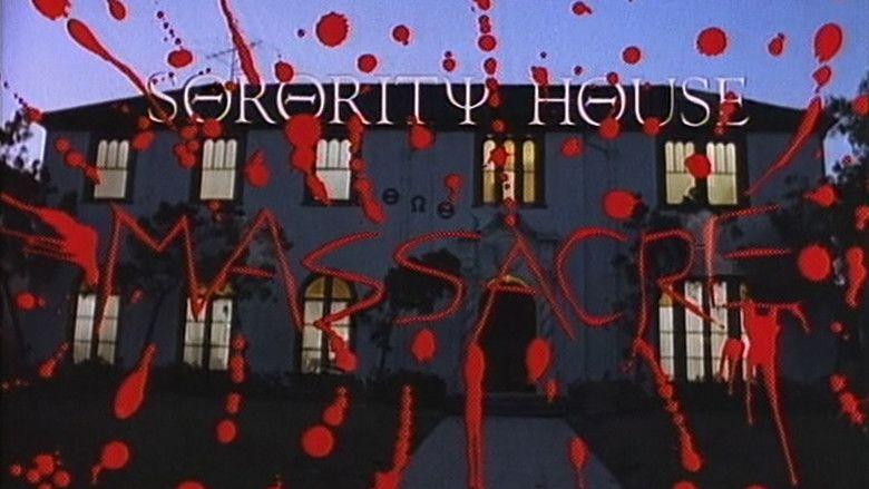 Sorority House Massacre movie scenes