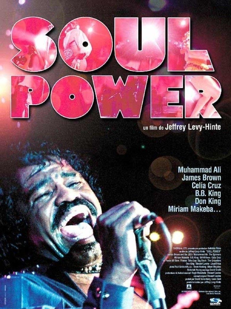 Soul Power (film) movie poster