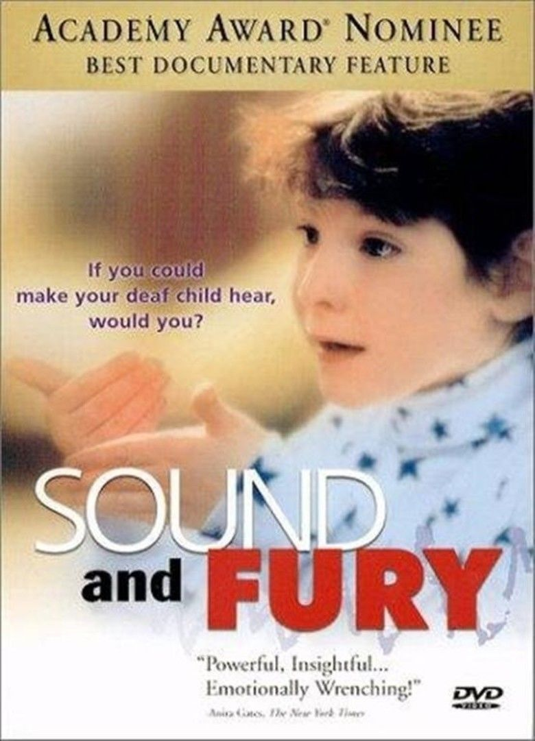 Sound and Fury (film) movie poster