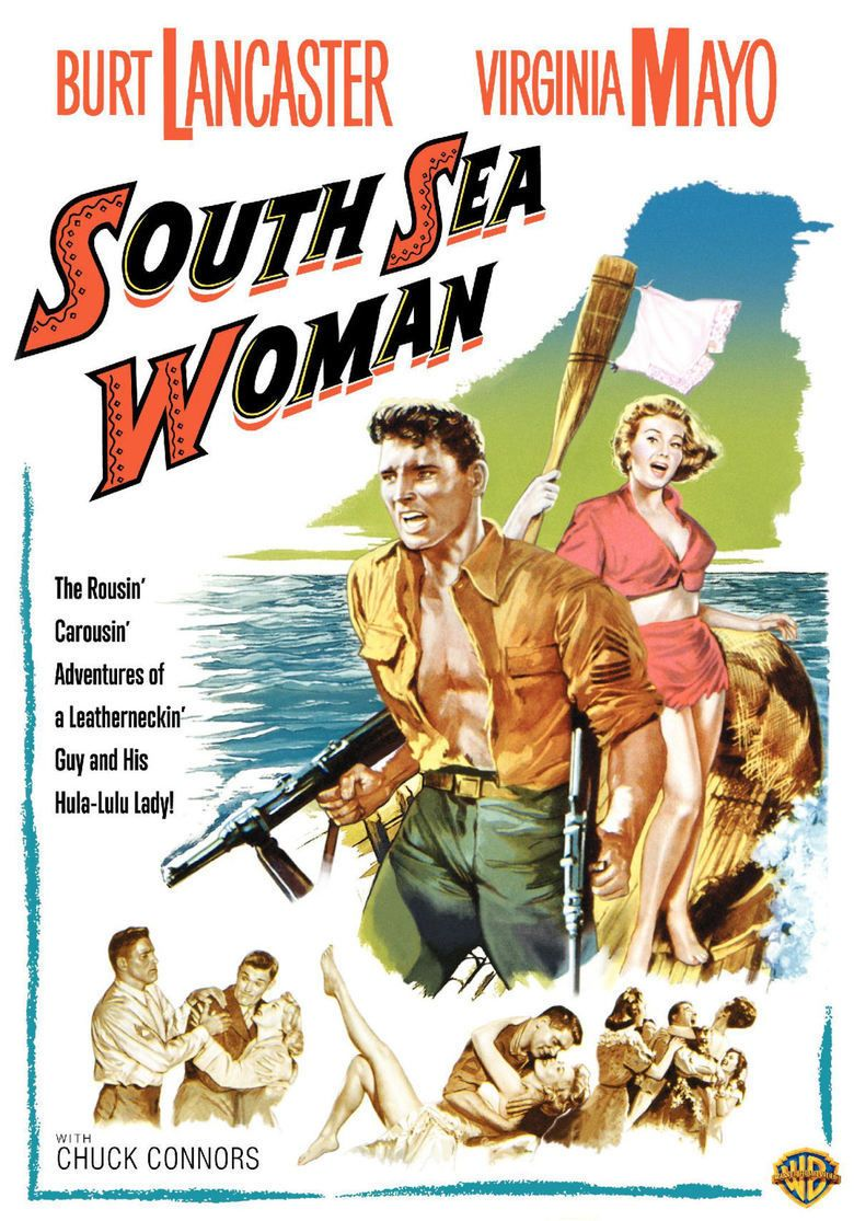 South Sea Woman movie poster