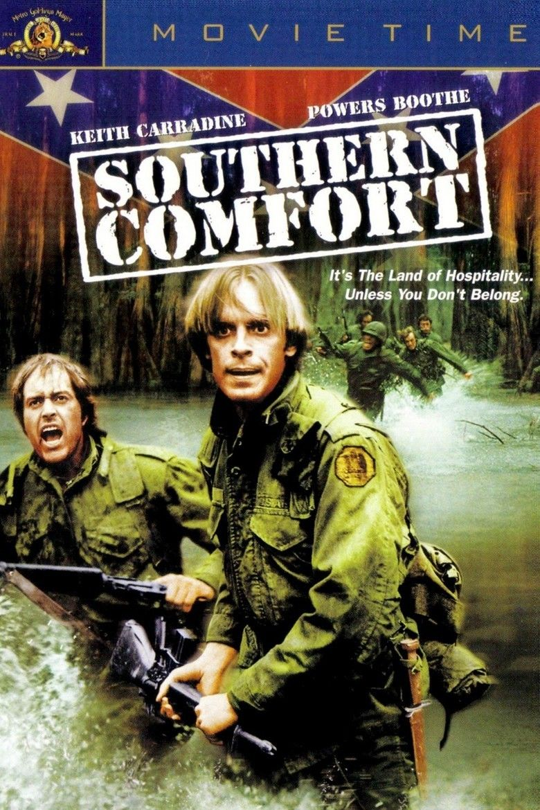 Southern Comfort (1981 film) movie poster